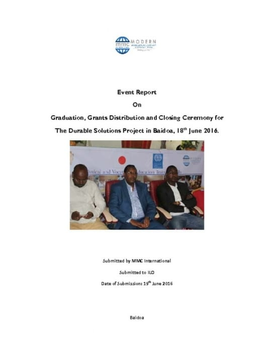 thumbnail of Closing Ceremony Report